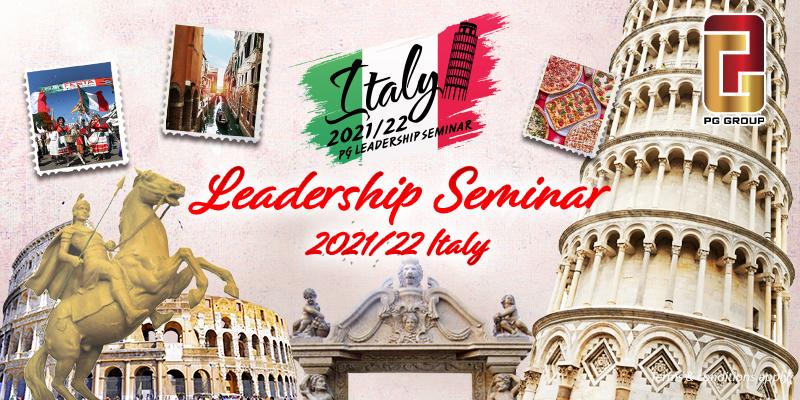 Italy Leadership Seminar 2021/22
