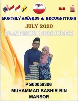 P BASHIR PLATINUM JULY