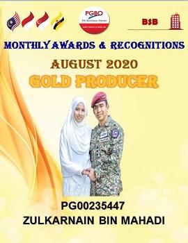 ZULKARNAIN BIN MAHADI AUGUST GOLD