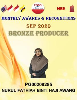Nurul Fathiah Binti Haji Awang PG00209285