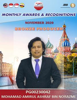 MOHAMAD AMIRUL ASHRAF BIN NORAZMI    Award Template