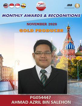 AHMAD AZRIL BIN SALEHON    Award Template