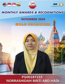 NORRASHIDAH BINTI ABD HADI    Award Template