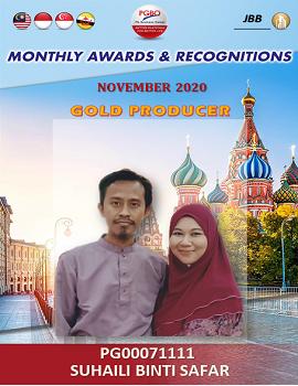 SUHAILI BINTI SAFAR   Award Template