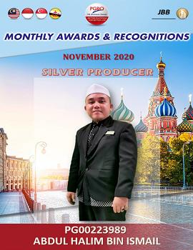 ABDUL HALIM BIN ISMAIL    Award Template
