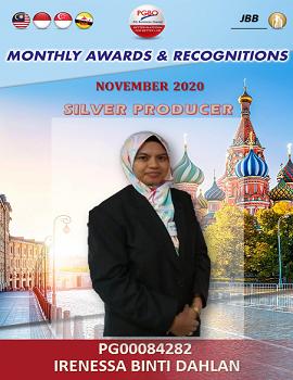IRENESSA BINTI DAHLAN   Award Template