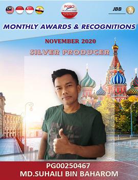 MD.SUHAILI BIN BAHAROM    Award Template
