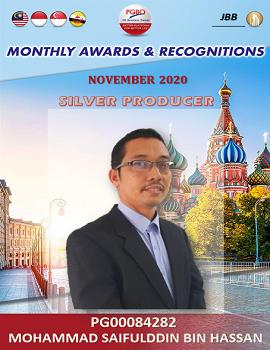 MOHAMMAD SAIFULDDIN BIN HASSAN   Award Template