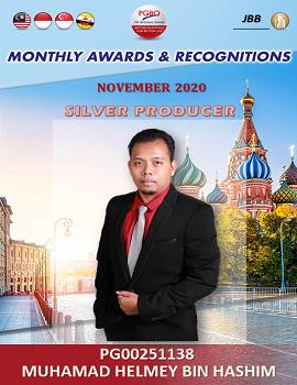 MUHAMAD HELMEY BIN HASHIM    Award Template