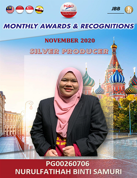 NURULFATIHAH BINTI SAMURI    Award Template